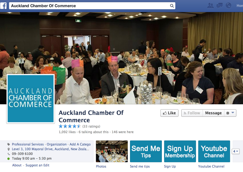 Social Media Stategy Campaign Auckland Chamber