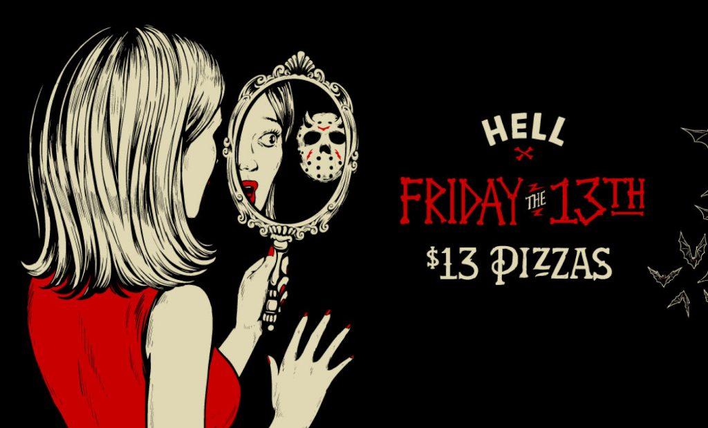 Social Media Campaign HELL Friday 13th
