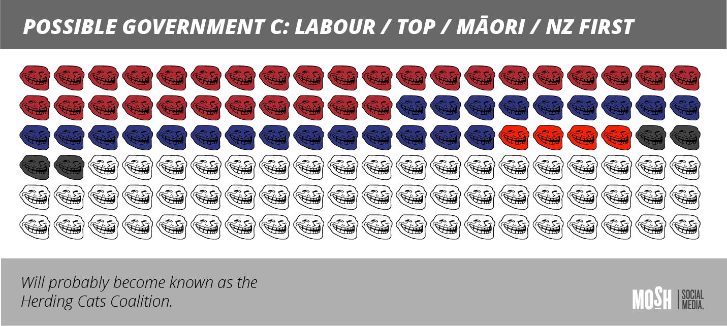Coalition Government Labour/TOP/Māori/NZ First