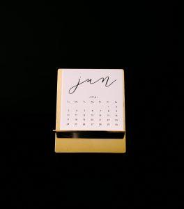 Mosh Social Media Content Ideas Calendar 2019
