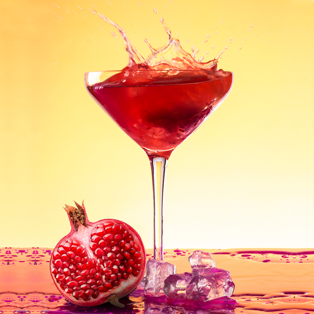Social media photography studio - cocktail